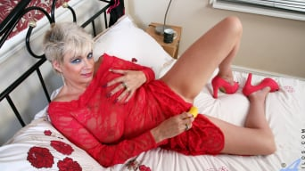 Dimonte in 'Lady In Red Laced Lingerie'