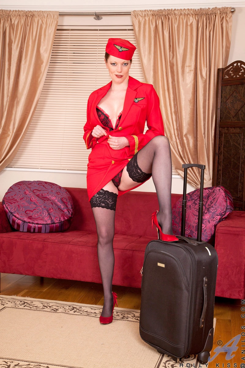 Anilos 'Air Stewardess' starring Holly Kiss (Photo 1)