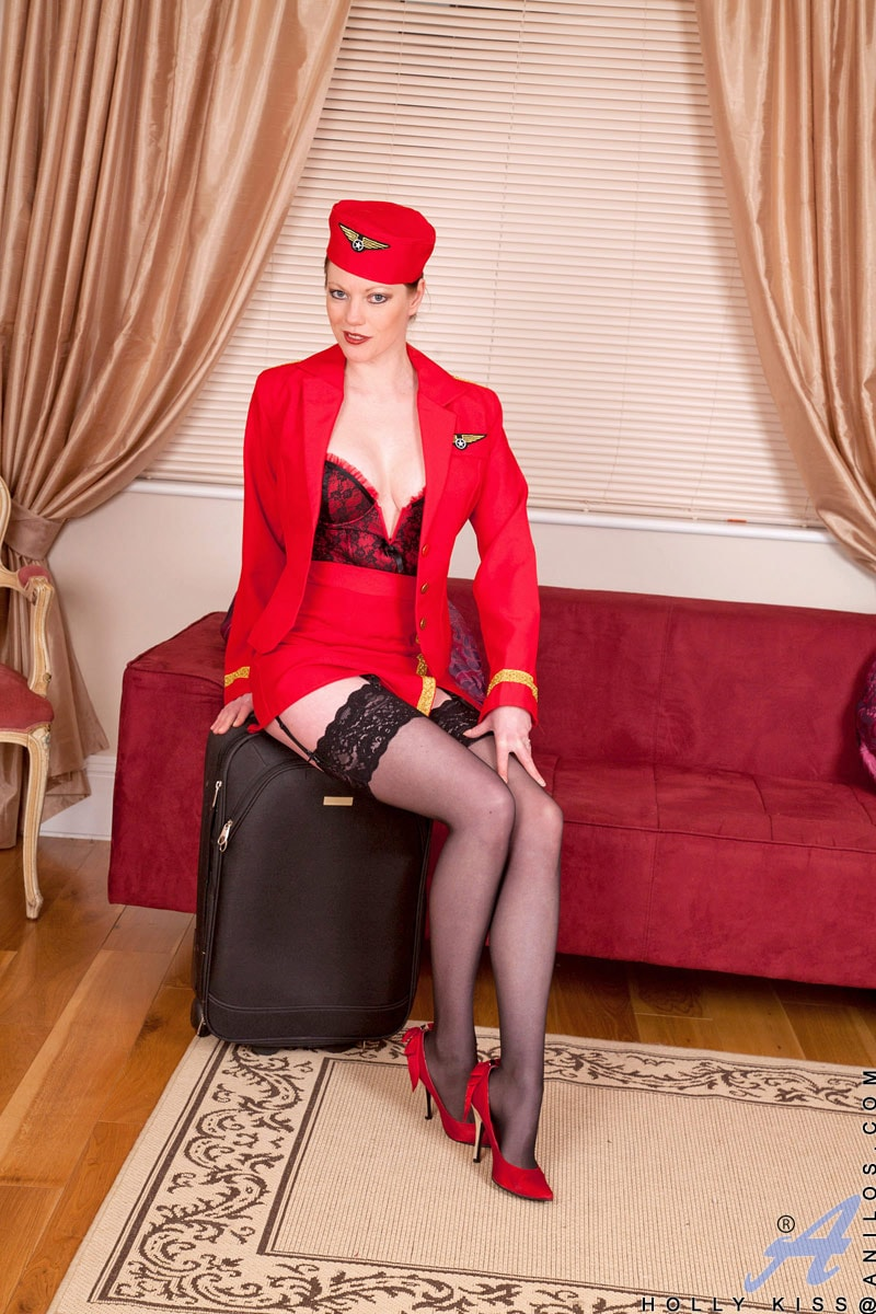 Anilos 'Air Stewardess' starring Holly Kiss (Photo 2)