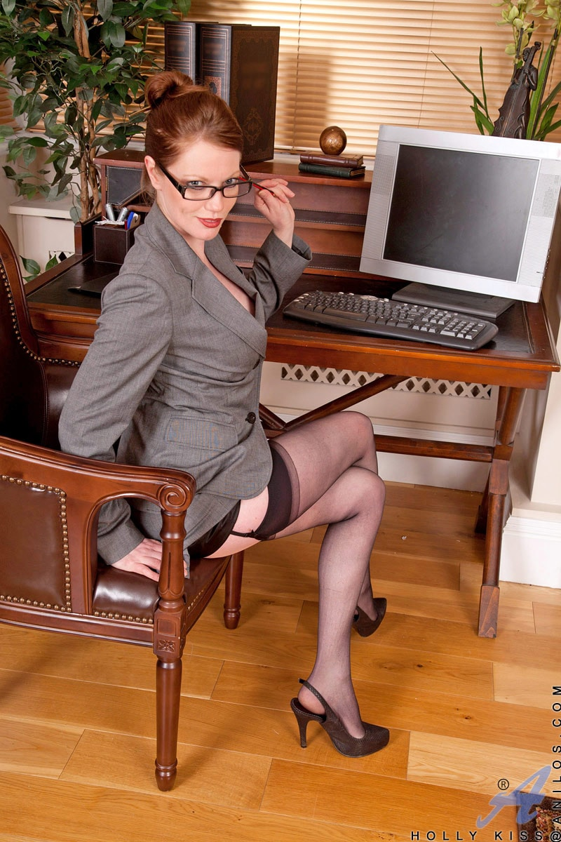 Anilos 'Office' starring Holly Kiss (Photo 1)
