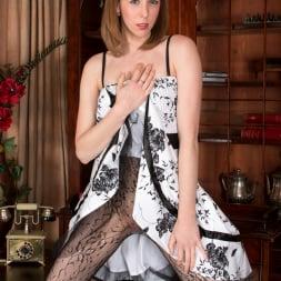 Katie White in 'Anilos' Lacey Pantyhose (Thumbnail 1)