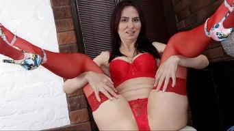 Lira Red in 'My Favorite Lingerie'