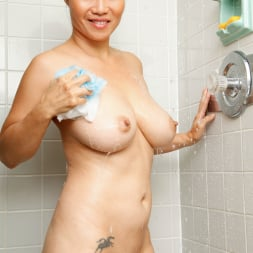 Lucy Page in 'Anilos' Shower Orgasm (Thumbnail 6)