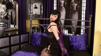 Nikita in 'Lace And Stockings'