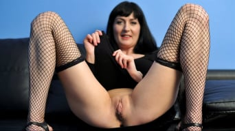 Nimfa in 'Fishnet Stockings'