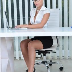 Satin Bloom in 'Anilos' Office Masturbation (Thumbnail 1)