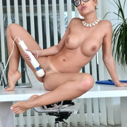 Satin Bloom in 'Anilos' Office Masturbation (Thumbnail 13)