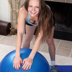 Sydney Johnson in 'Anilos' Busty Workout (Thumbnail 1)